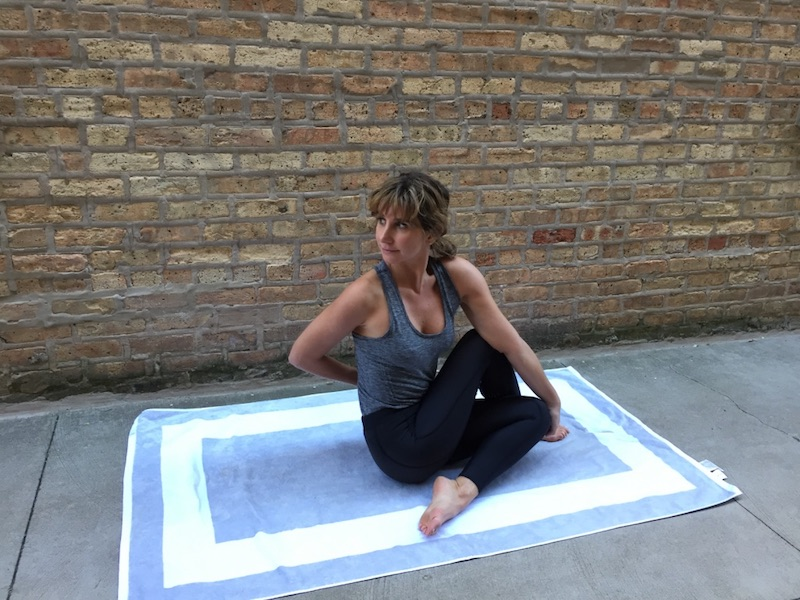 Yoga Pose for Jet Lag: Spinal Twist