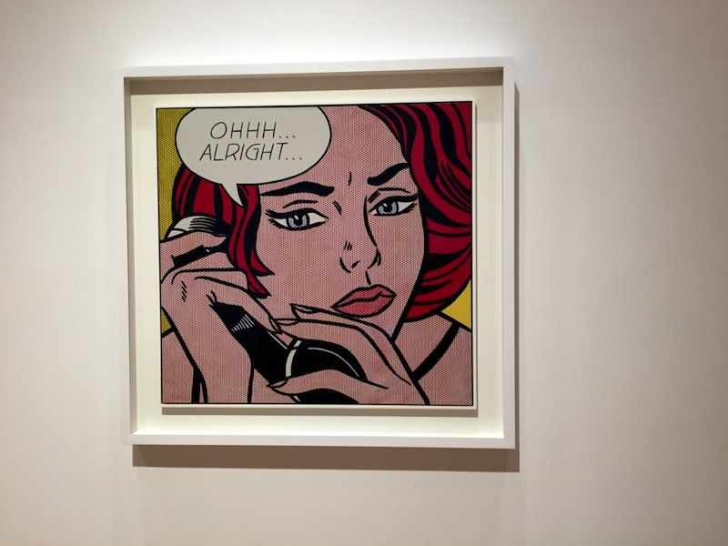 Lichtenstein's pop art