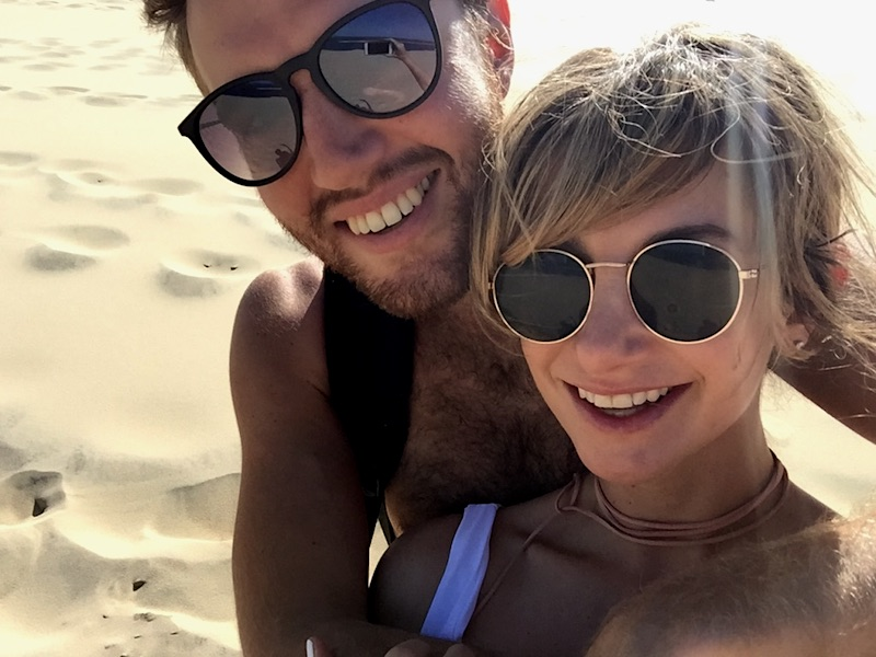 the tricks to travelling as a couple